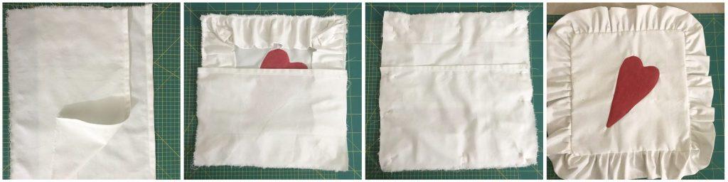 Come fare un cuscino senza cerniera