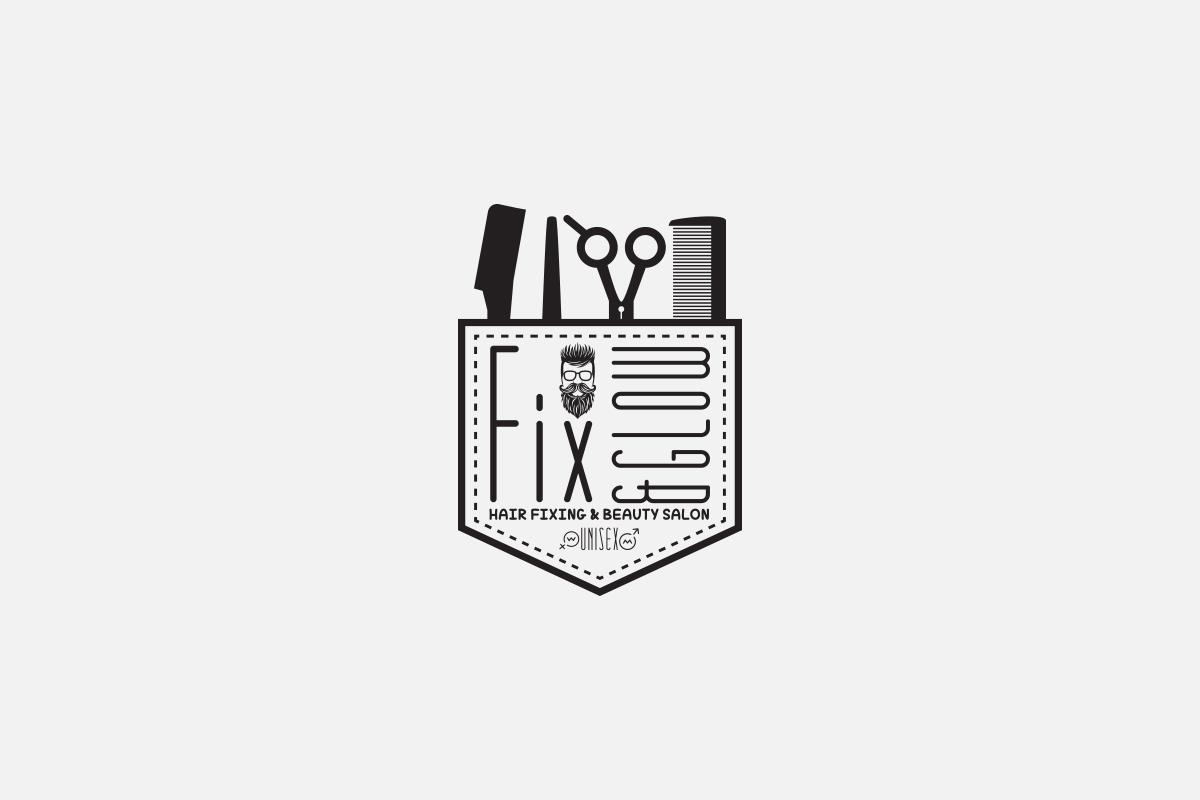 Beauty saloon logo design
