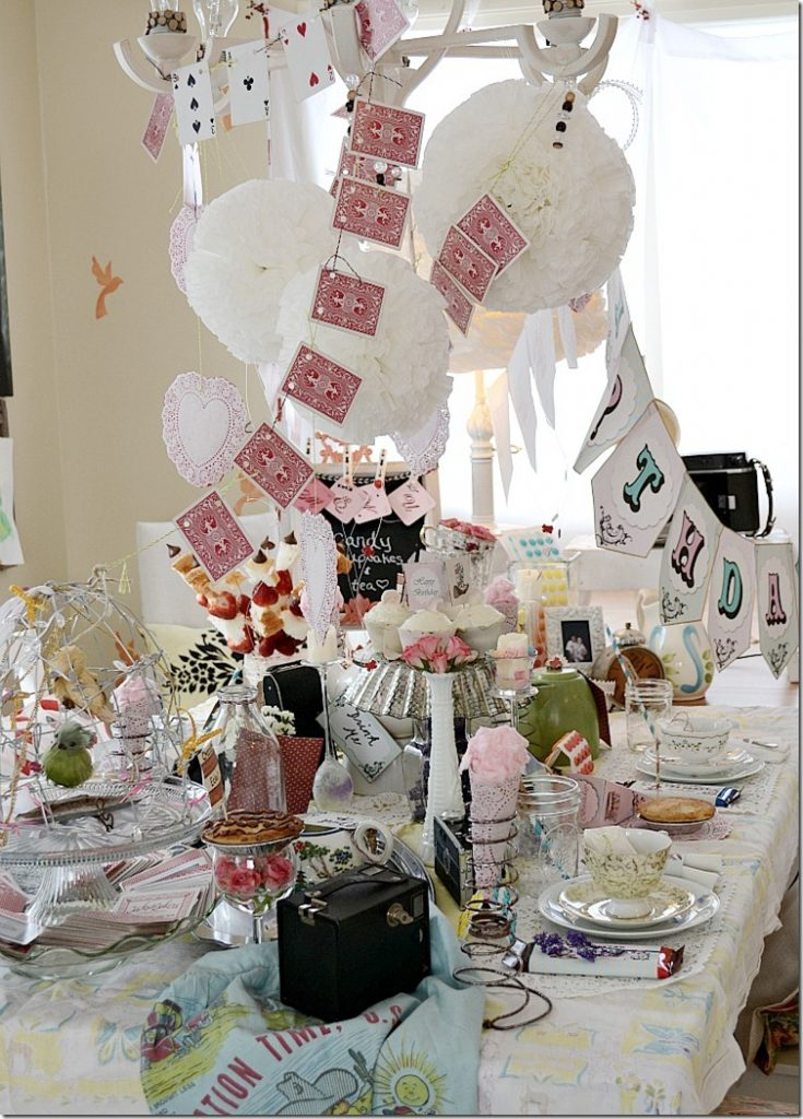 Alice in Wonderland party  Mad Hatters Tea Party