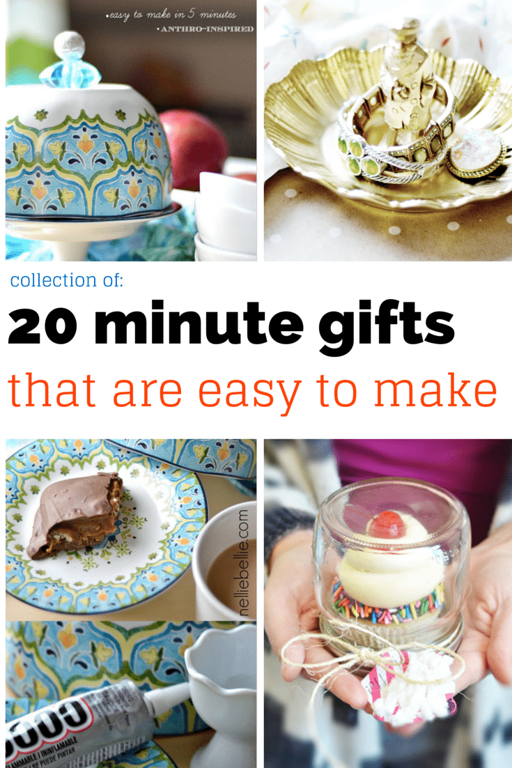 easy gift ideas quick
