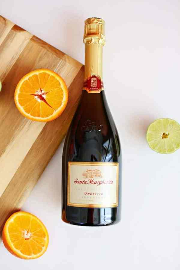 Tangelo Prosecco Mimosa Recipe easy refreshing cocktail