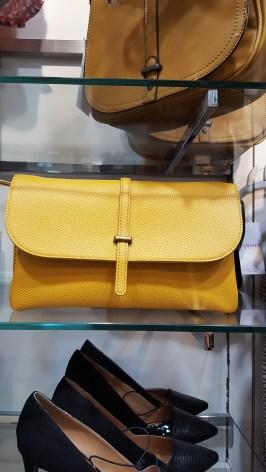 Sac jaune moutarde Camaieu