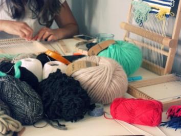 Atelier tissage
