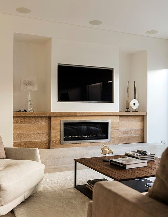 furniture placement in small living room with corner fireplace ceiling fan ideas Как офомить стену с телевизором: 6 способов + 1 эффектный ...