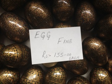 Paper Maché eggs