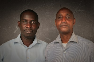 Hutu and Tutsi friends after Rwandan Genocide