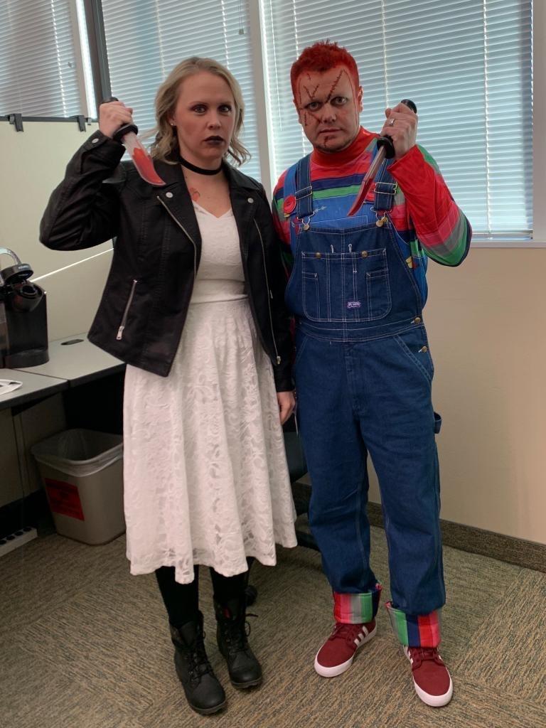Chucky & Bride of Chucky - Erica & Nolan Anderson