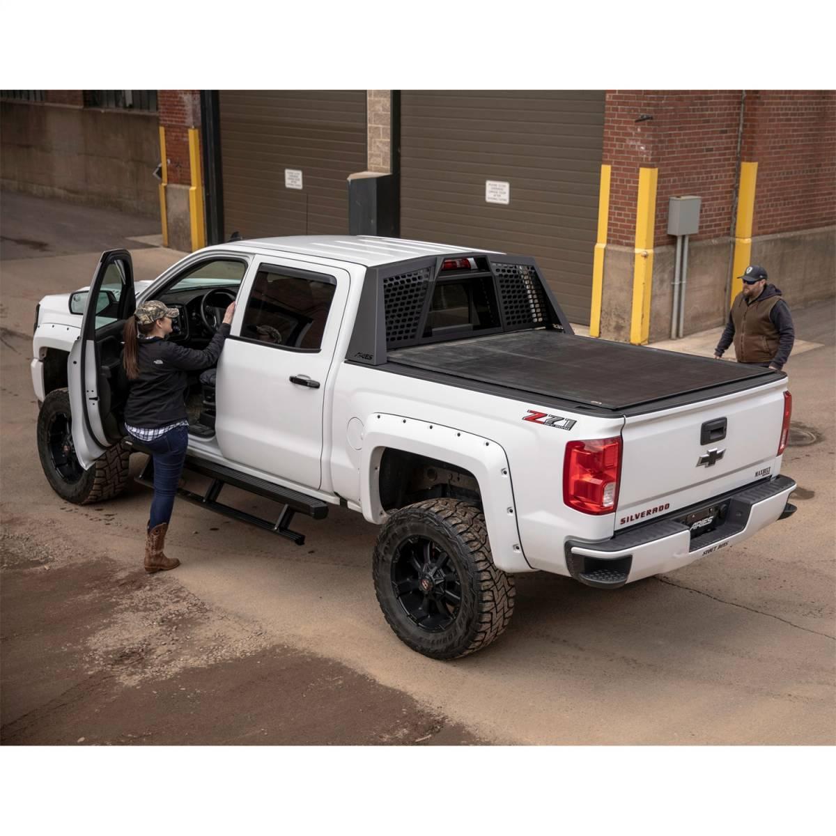 switchback headache rack aries 1110110 nelson truck equipment and accessories