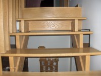 Open stringer stair design 001 Nelson Woodcraft