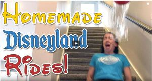 Basement Disneyland - Homemade Disneyland Rides
