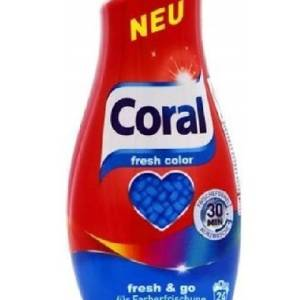 Praci gel Coral color fresh 24 prani 1,5 L