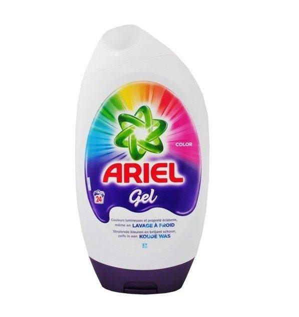 praci gel ariel exel color 24 prani 888 ml