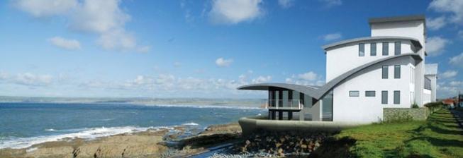 house near ocean