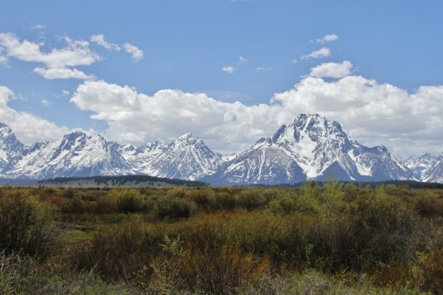 Grand Tetons (Photo by Alex Lamoreaux)