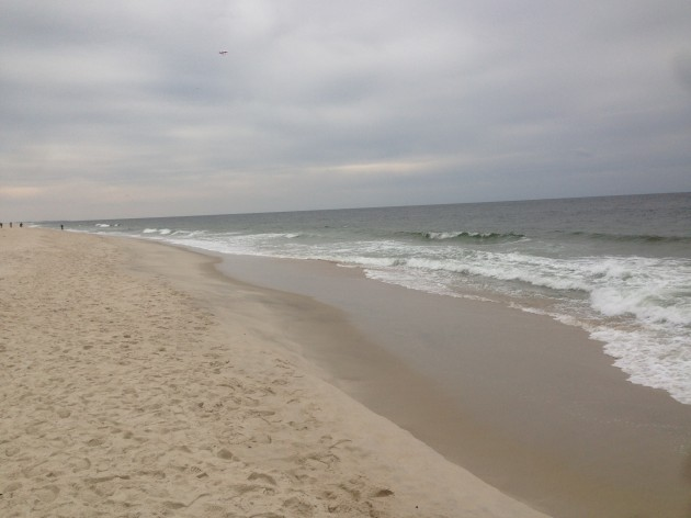 The sandy coastline (Photo by Nathan Goldberg)