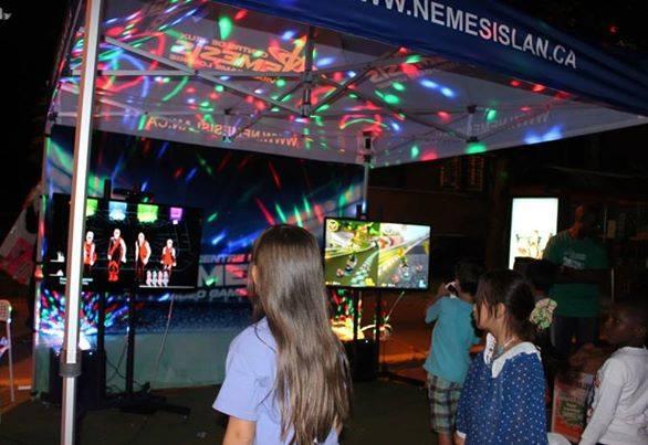 Nemesis Gaming Tent