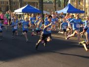 Off to a quick start in the One Mile race