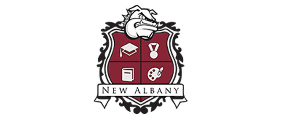 New Albany school district graduation rate