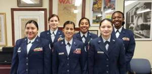 New Albany MS National Flight Academy cadets