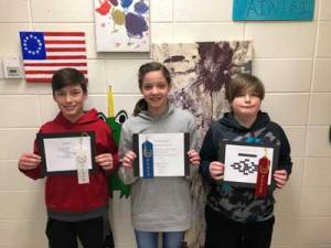 New Albany MS NAMS 6th poetry winners