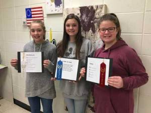 New Albany MS NAMS 7th poetry winners