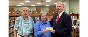 New Albany MS Class of 1960 Union Co. library donation