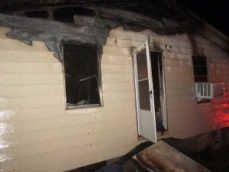 New Albany MS Fire on Barksdale Dr.