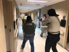 New Albany MS Baptist hosp active shooter drill