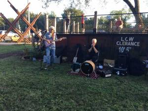 New Albany MS Hot August night with CLERANCE