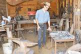 The blacksmith shop was very important to the community.