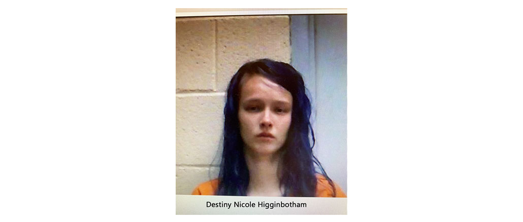 New Albany MS Destiny Higginbotham one of two felons arrested