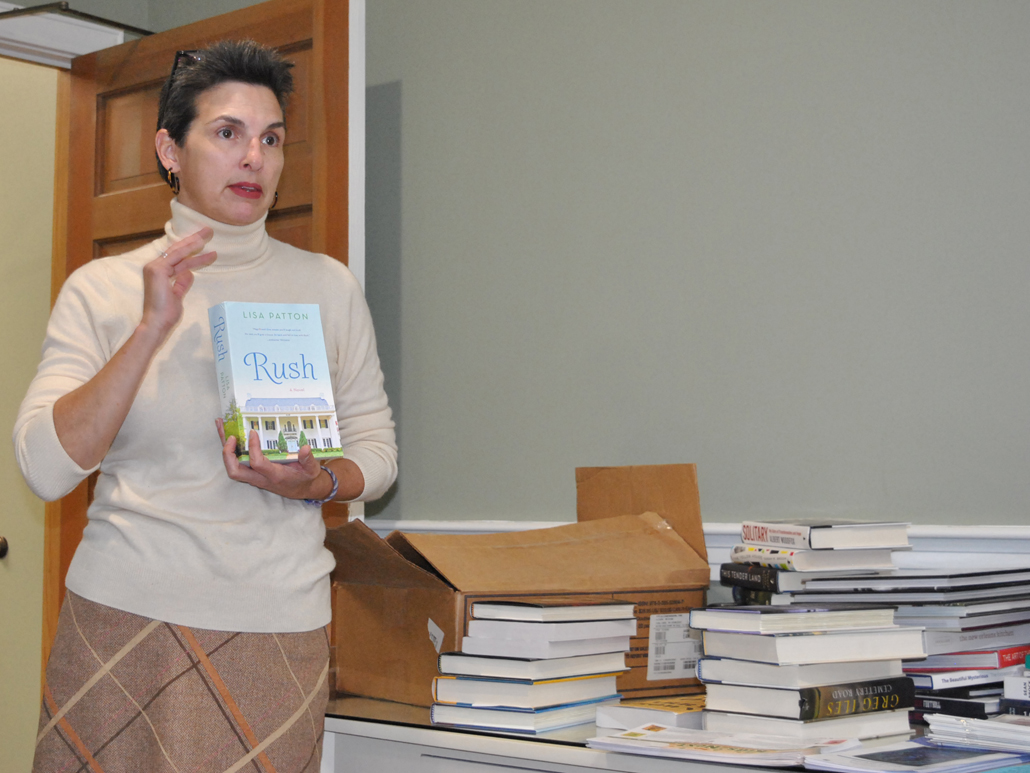 Lynn Roberts talks about book
