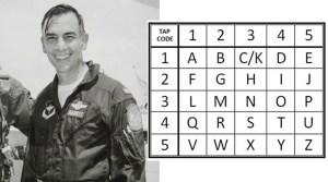 Capt. Harris and tap code