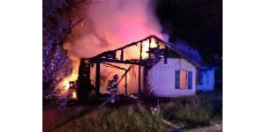 NEMiss.news Fire destroys home