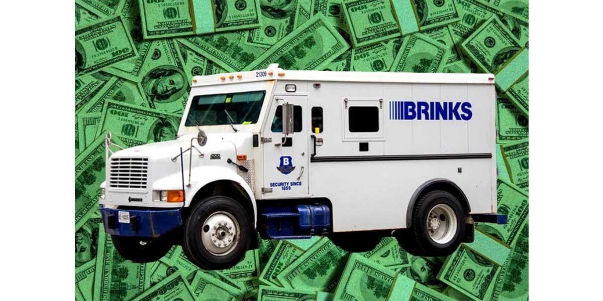 Brink's truck NEMiss.news