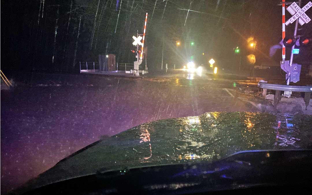Flooding at BNSF tracks NEMiss.News
