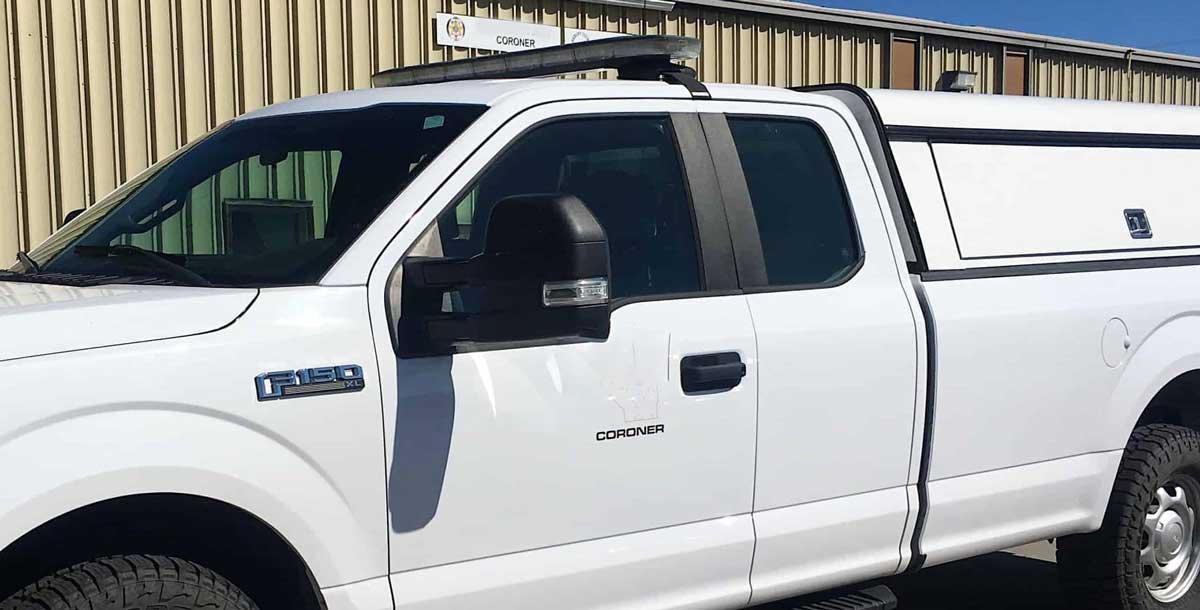 NEMiss.News Coroner vehicle