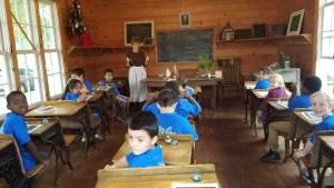 NEMiss.News Heritage Days classroom exhibit