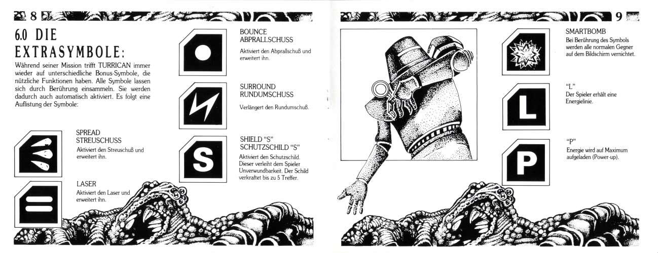 Super Turrican Manual (NES)