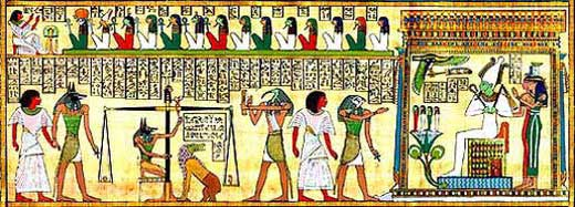 Osiris' Court in the Underworld