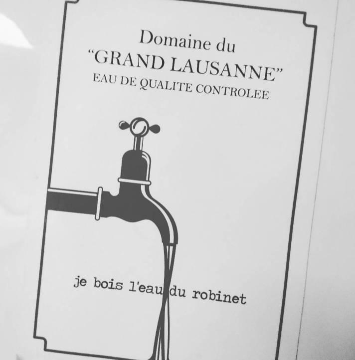 #jeboisleaudurobinet #drinkwater #lausanne #frisek @wedrinkwater @mylausanne @frisek