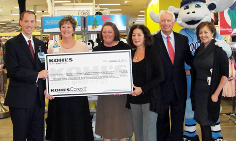 Kohls Donates More Than 90000 to Injury and Trauma Prevention  Nemours