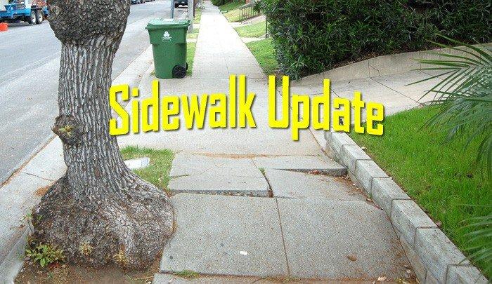 LA City Sidewalk Situation Update