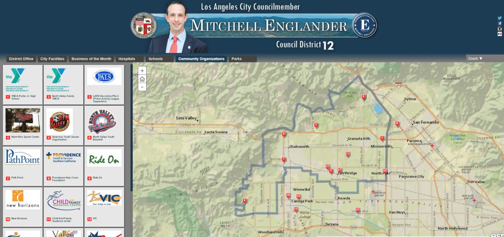 Check Out the New Interactive District Map on CD12 Website ...