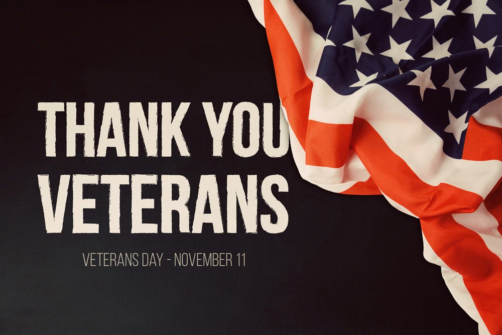 Happy Veterans Day!