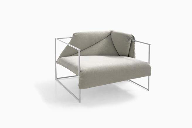 lounge sofa chair art van tables zabuton | nendo