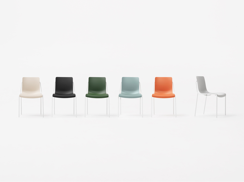 offset frame chair  nendo