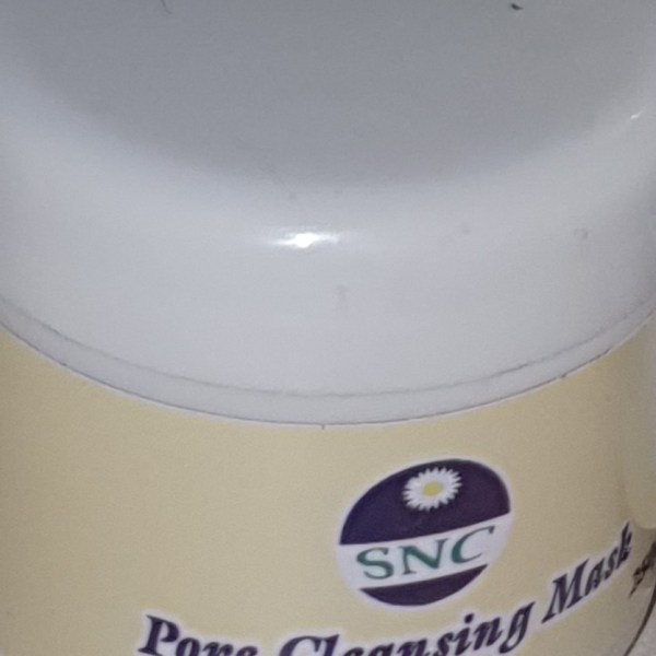 Pore cleansing mask
