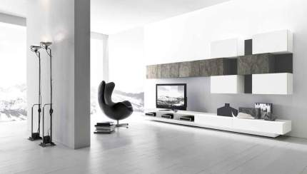 Modern Tv Wall Unit Comp 223 By Presotto Italy