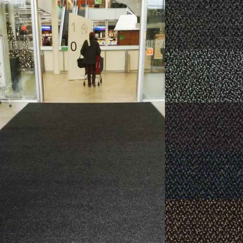 tapis d entree tricolore tapis absorbant anti salissure sur mesure neosol